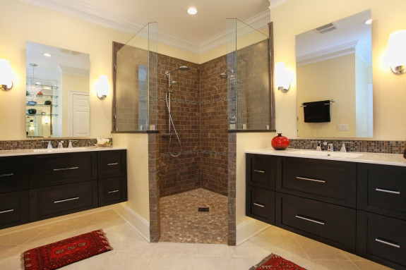 Lisa Stewart Design Bath Remodel