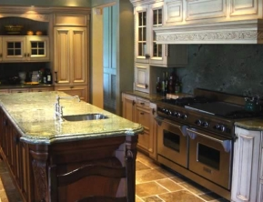 Lisa Stewart Design Granite Countertops