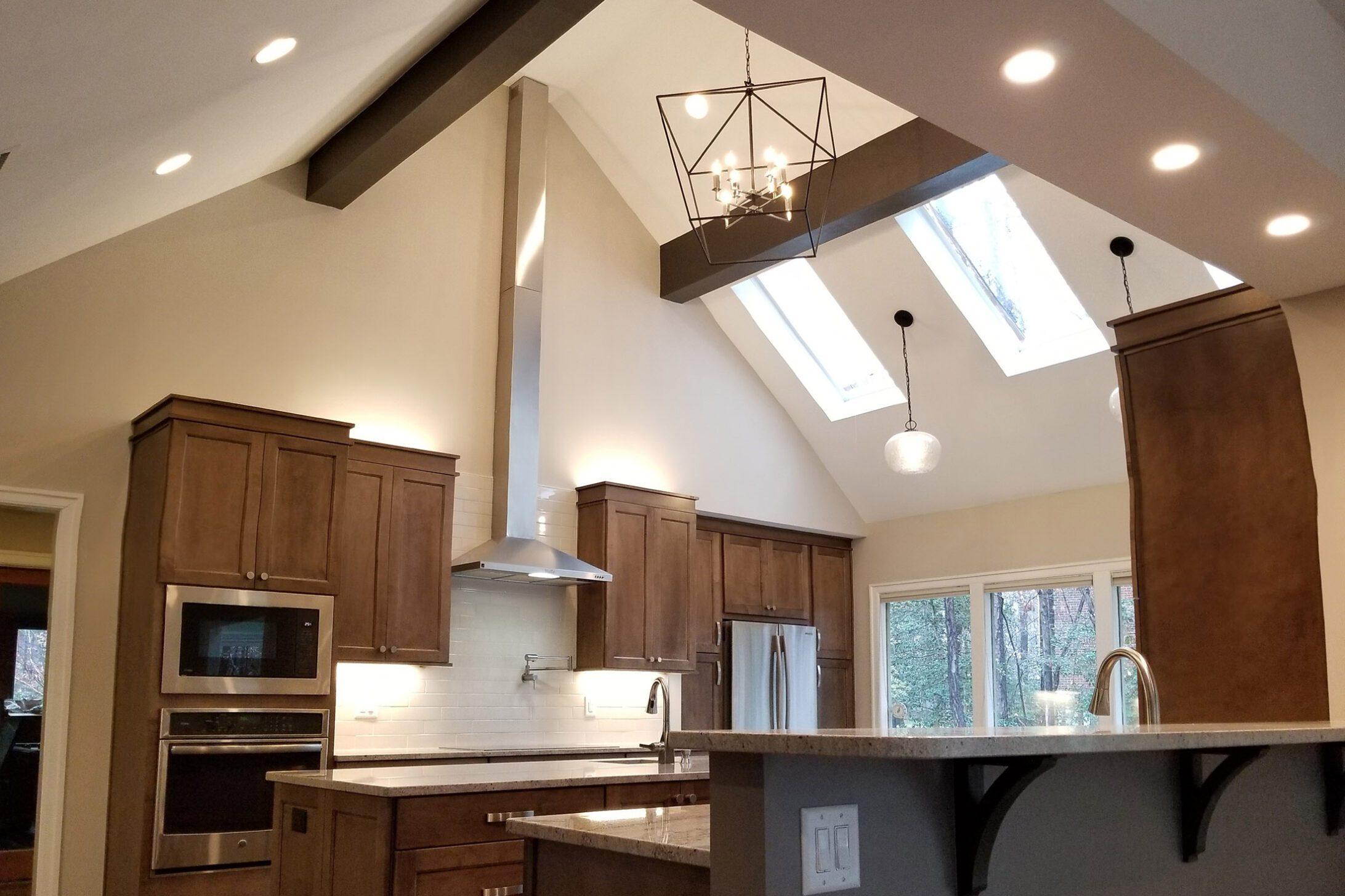 Open Up Main Level Remodel Kitchen Modern