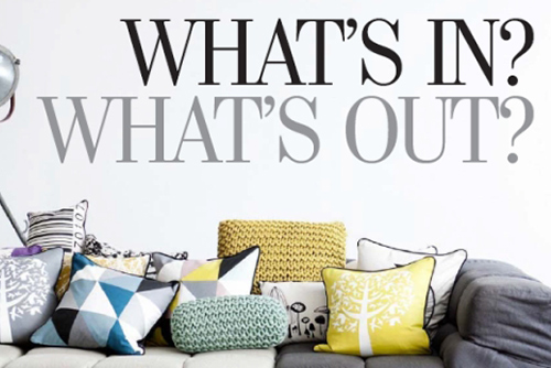 Lisa Stewart Design What's IN? What's OUT?