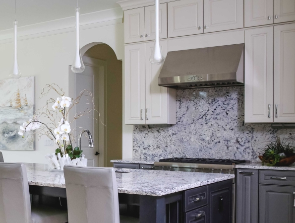Lisa Stewart Design Interior Raleigh Countertops